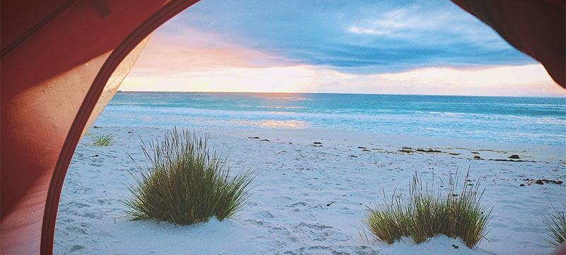 4 sitios donde acampar en Lanzarote