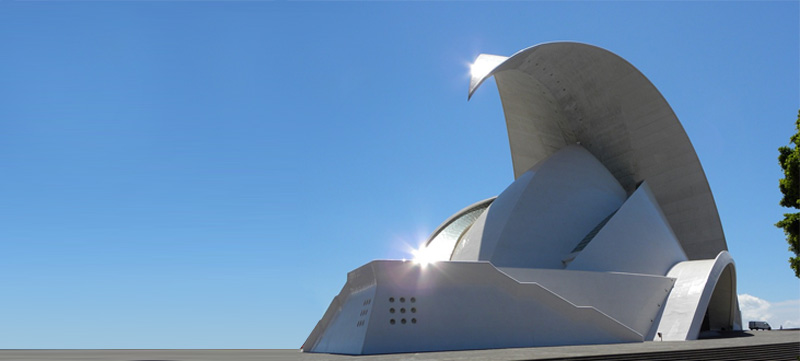 Auditorio de Tenerife, un espacio para el arte