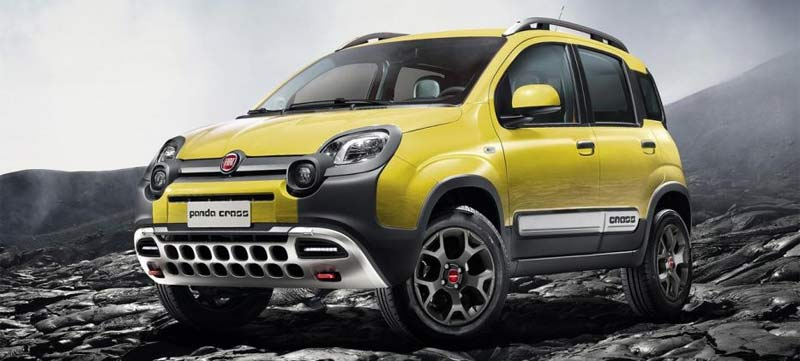 Discover the Canary Islands with your FIAT Panda 4x4