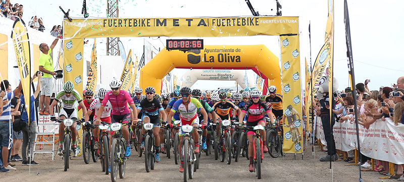 On 1 September, Fuertebike V was celebrated