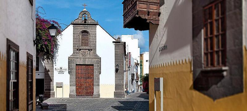 Semana Santa en Gran Canaria. Las iglesias de Vegueta.