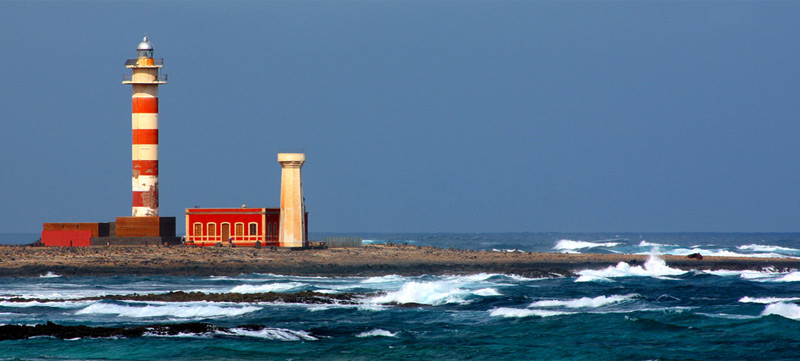 The lighthouses route in Fuerteventura