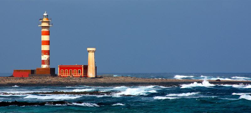 El recorrido de los faros en Fuerteventura