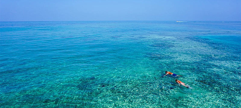 Snorkel en las azules aguas de Fuerteventura