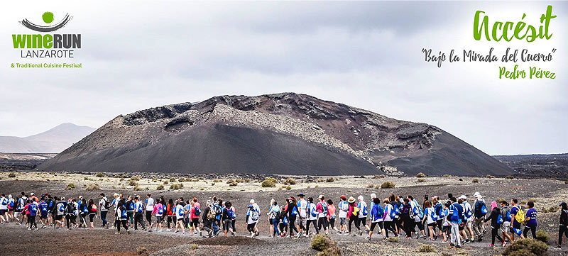 Wine and sport, the WineRun 2018 in Lanzarote