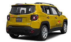 book Jeep Renegade, Fiat 500X or similar