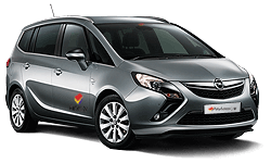 book Opel Zafira Tourer, Seat Alambra or similar