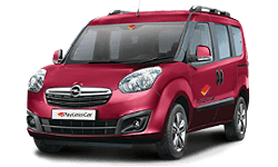 book Opel Combo, Fiat Doblo or similar